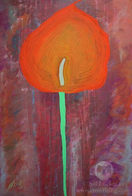 Calla Lily (original painting)