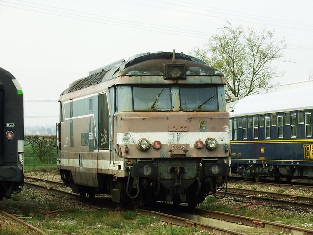 Cité du Train Mulhouse (68 Haut-Rhin) BB-67305 05-04-19a