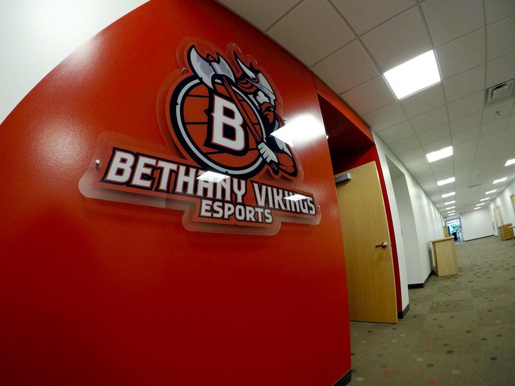 Bethany Vikings Esports Room
