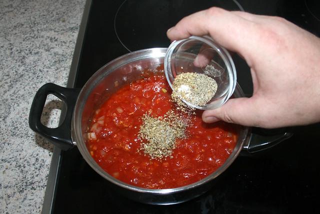 12 - Mit Gewürzen abschmecken / Taste with seasonings