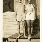 Raymond and Evelyn Summer Vacation likely late 1930's