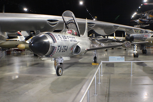 F-94C Starfire w/Mighty Mouse rockets at the USAF Museum, Wright-Patterson AFB OH (photo: Paul Woodford)
