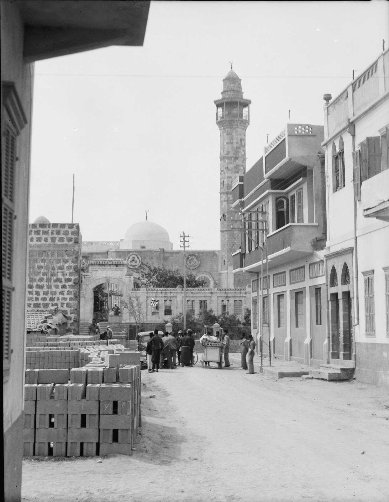 10. Яффо. Мечеть Хасан бея [т. Бек] на границе с Тель-Авивом
