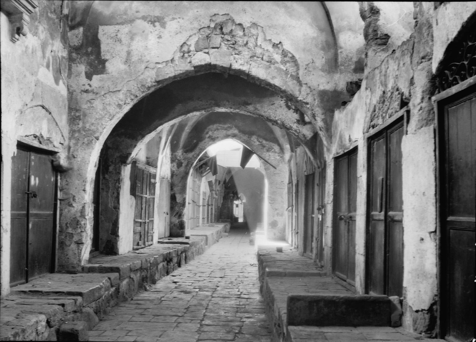 05. Иерусалим. Запертые ювелирные лавки во время всеобщей арабской забастовки