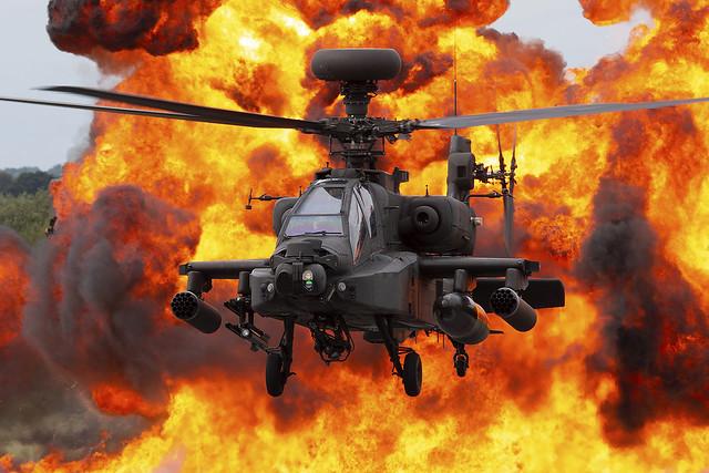 AAC WAH-64D Apache ZJ181 Demo finale