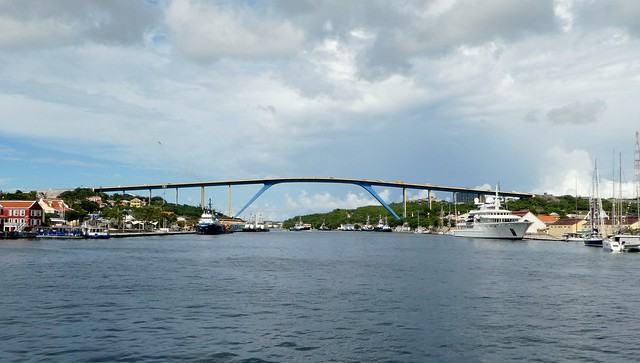 Willemstad, Curacao - Queen Juliana Bridge