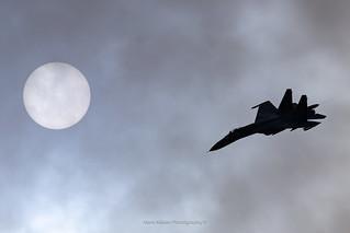 Su-27 Flanker at RIAT 2019