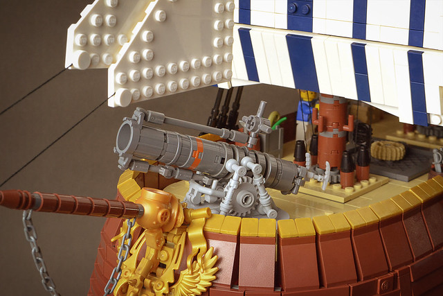 LEGO Steampunk Flying Machine