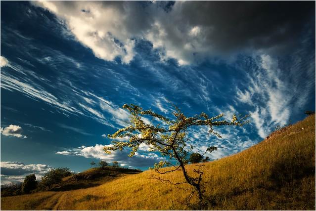 Mit den Wolken ziehen