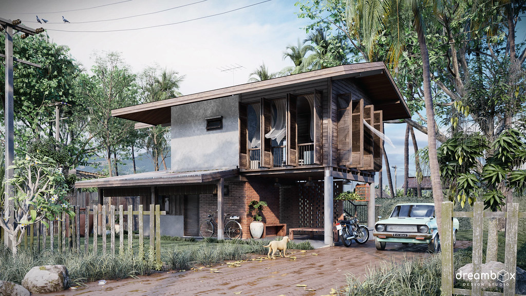 Countryside House | Modeling: SketchUp Rendering: Lumion 9 P… | Flickr