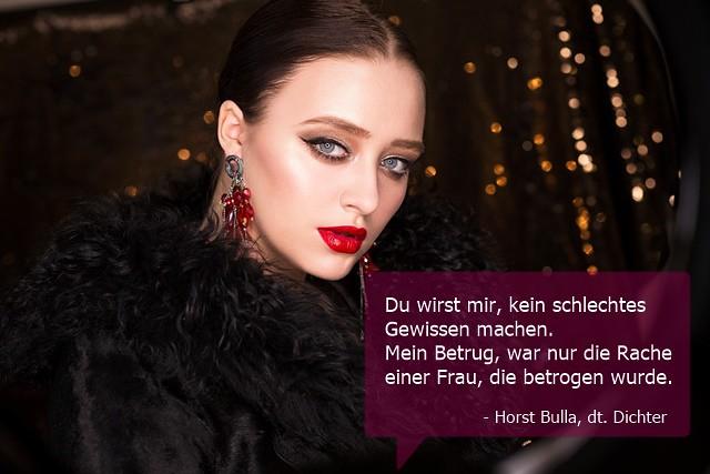 Du wirst mir, kein schlechtes Gewissen machen. - Horst Bulla (1)