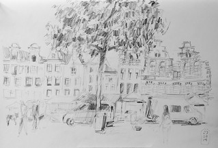 Amsterdam, Urban Sketching