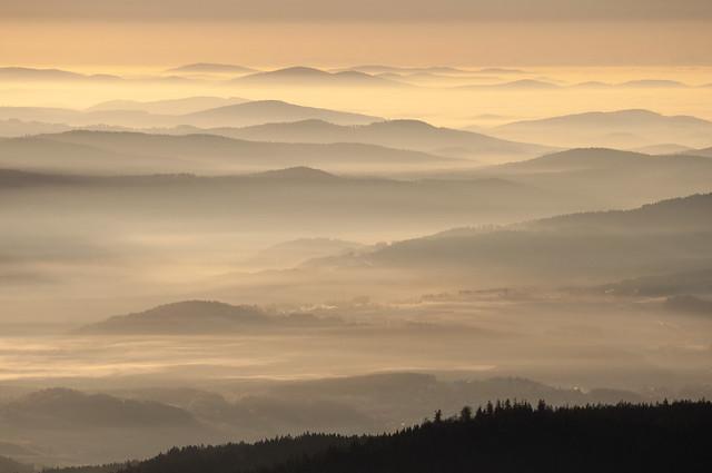 November Bayerischer Wald
