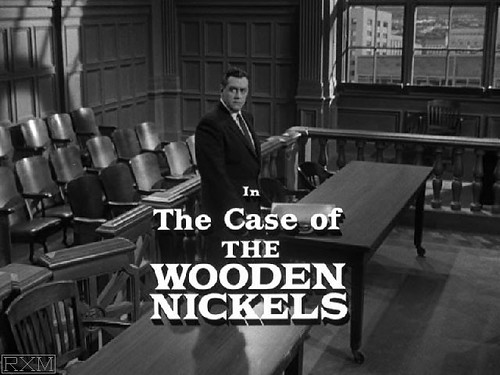 Perry Mason Case of the Wooden Nickels