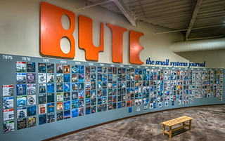 CMoA: Byte Magazine display - 2019-07-20_20