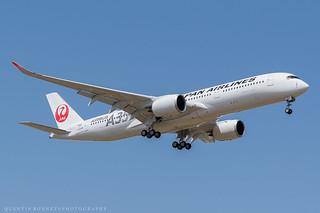 Japan Airlines Airbus A350-941 F-WZFX (JA02XJ)