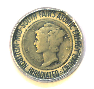 Irradiated Dime Mid-South Fairs