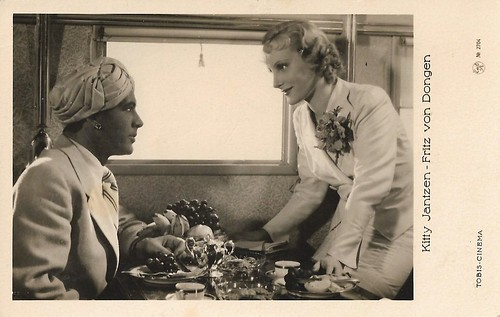 Frits van Dongen and Kitty Jantzen in Das indische Grabmal (1938)