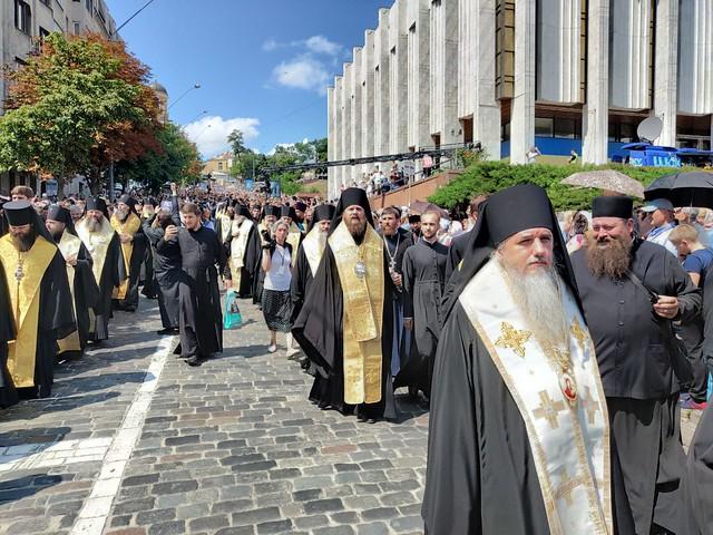 Крещение Руси. Молебень, крестный ход, вечернее богослужение