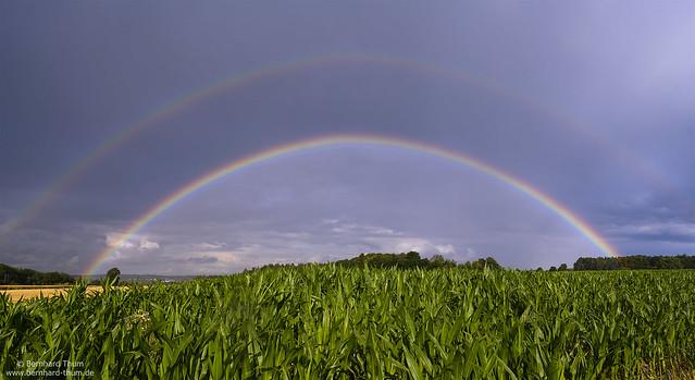 Rainbows over Hallertau N°2