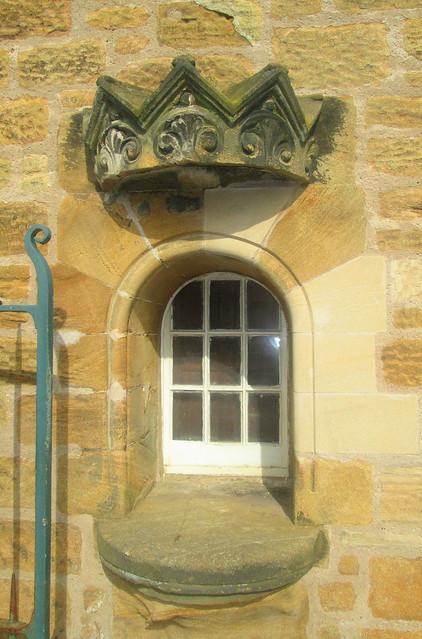 Niche in Outbuilding, St Drostan's, Markinch
