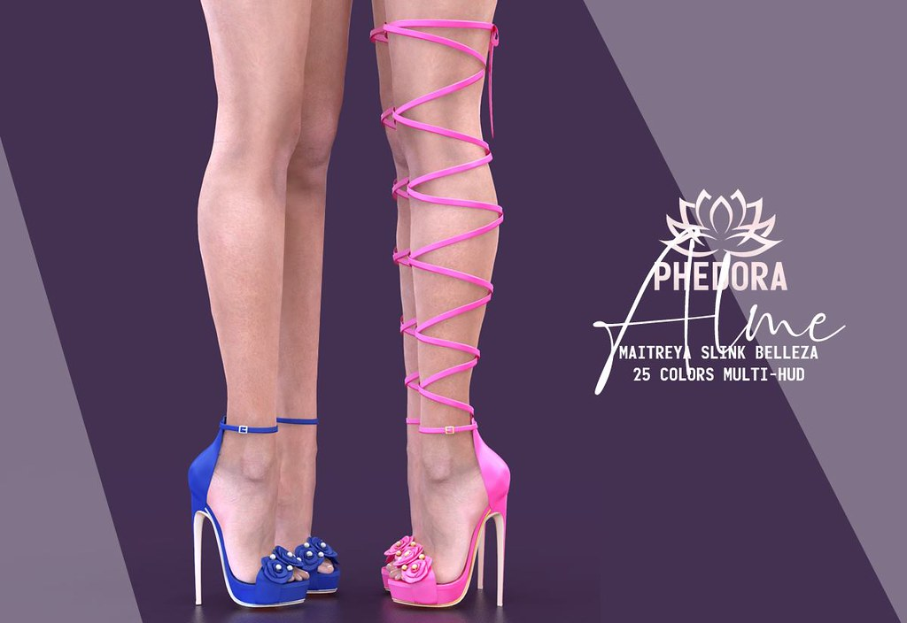 "Phedora. for Uber – ""Alme"" heels♥"
