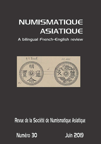 Numismatique Asiatique No30 June 2019 cover