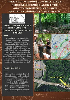Special tour next Saturday! Please take advantage of the unique opportunity to get acquainted with this historic site before a public meeting, August 8, to discuss the future use of this section of the The River Line Historic Area. #civilwar