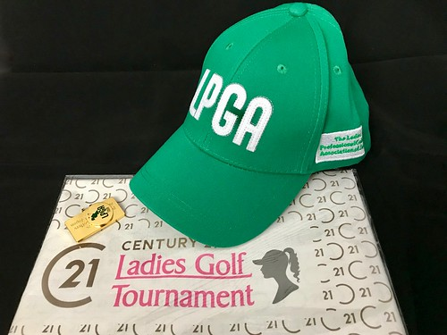 LPGA帽子とマーカー