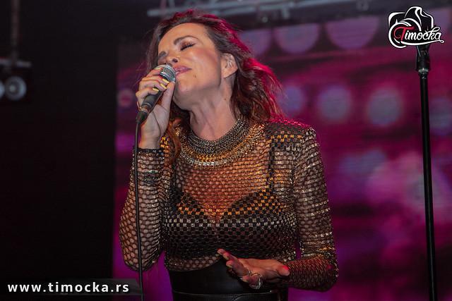 Severinin koncert na 58. Festivalu kulture mladih Srbije