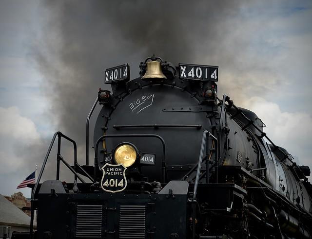 Another closeup -Union Pacific -  Big Boy #4014 - Wheaton IL