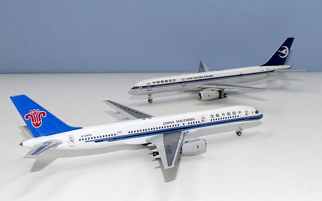 China Xinjiang & China Southern Airlines Boeing 757-200s
