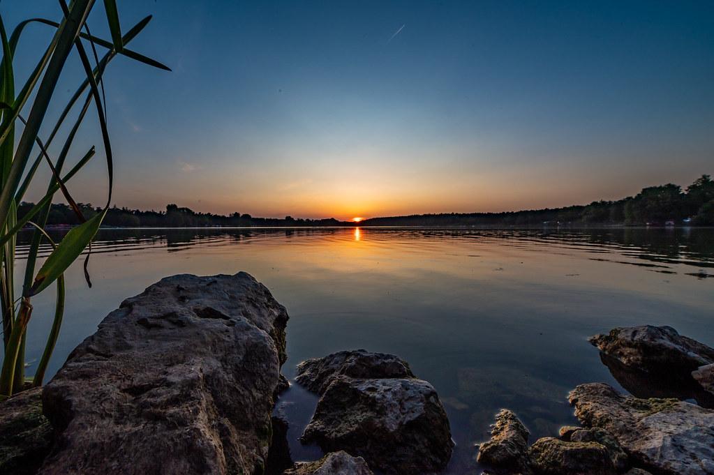 Sonnenuntergang am Dechsendorfer Weiher 2847
