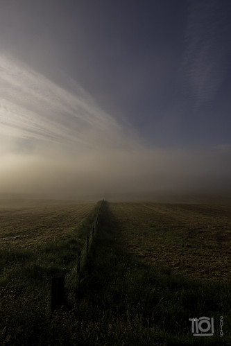 fuji grantownonspey scotland xh1 fence gate landscape mist sunrise
