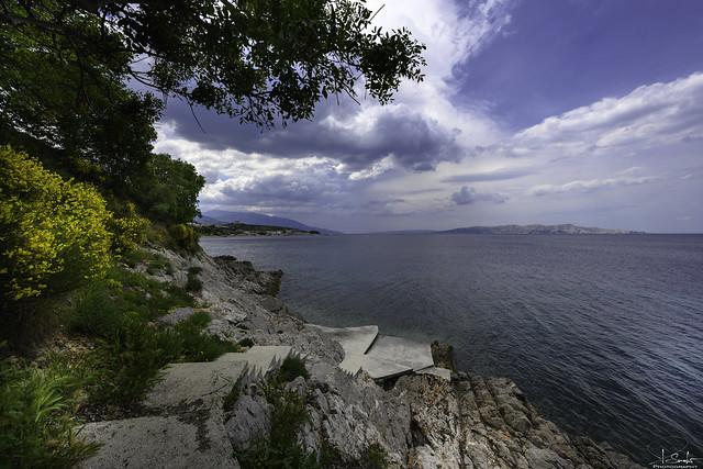 Beach near Zengg - Croatia