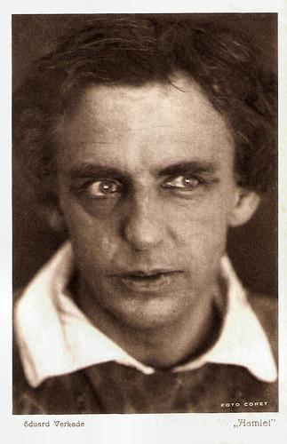 Eduard Verkade in Hamlet