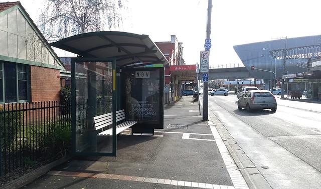 Former bus stop, Murrumbeena Road, Murrumbeena