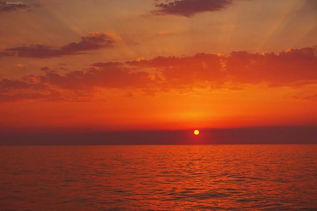 ... tramonto diverso ...