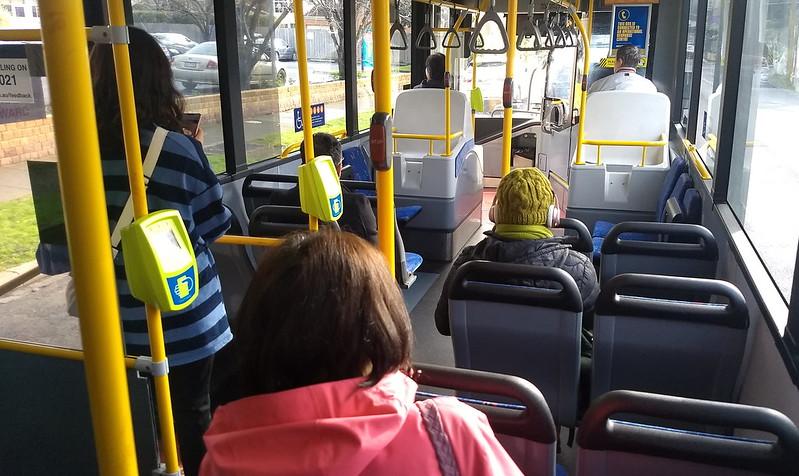 Bus 627 approaching Murrumbeena