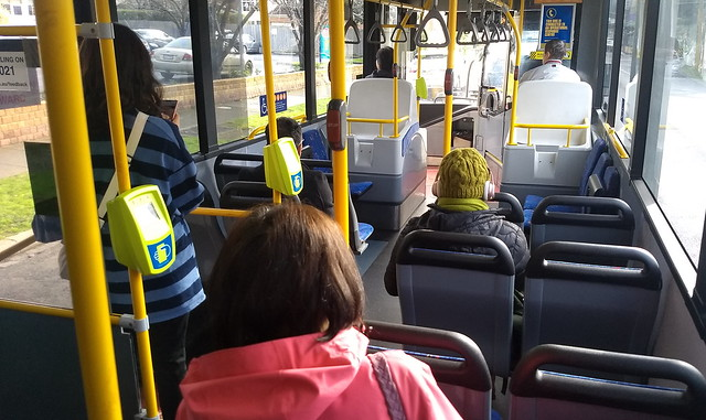 Bus 627 approaching Murrumbeena