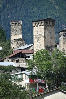 houses with towers