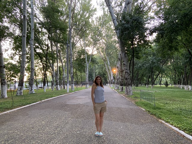 First week in Tashkent - July 22-28, 2019