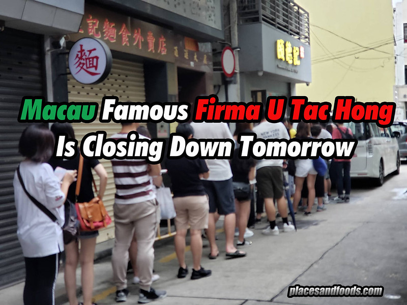 Firma U Tac Hong Is Closing Down Tomorrow