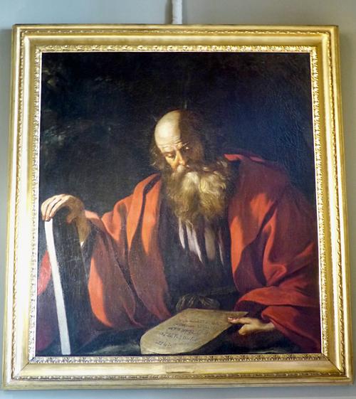 Moïs eet les Tables de la Loi