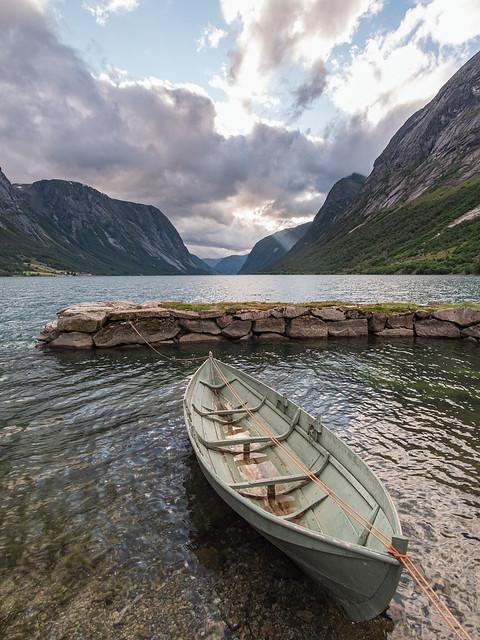 Norway fjord.