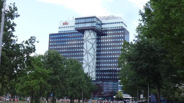 2012/15 Berlin Umbau Philips-Hochhaus 73mH/18Et. von Paul Schwebes 1965/70 durch Alvarez Schepers zu Hotel Riu Plaza Martin-Luther-Straße 1 in 10787 Schöneberg