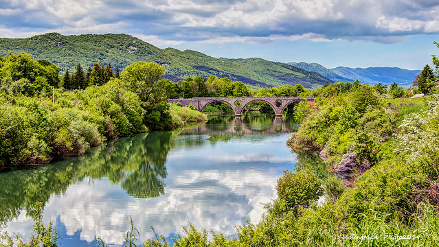 Kosinjski most preko rijeke Like (2)