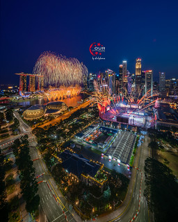 National Day Rehearsal Firework @ 27 July 2019 (NDP Preview 1)