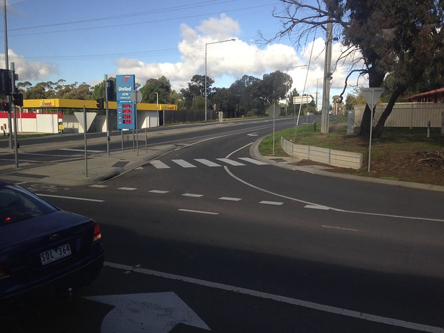 Zebra crossing to nowhere, Bendigo