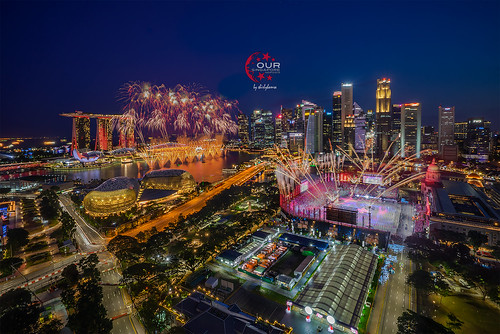 NDP Rehearsal Firework Preview 1 (27 July 2019)
